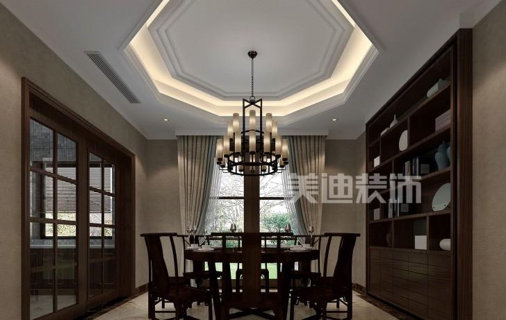 堤亚纳湾新中式亚博体育app下载安装效果图—餐厅