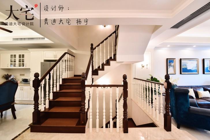 龙湖湘风原著260平小美风格亚博体育app下载安装亚博体育app官方下载苹果实拍图-走廊