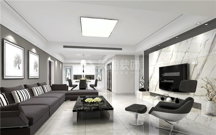 150平米的房子属于大户型装修,确定装修风格是房屋装修的重要关键