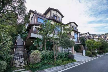 别墅尖顶设计绿化别墅装修庭院