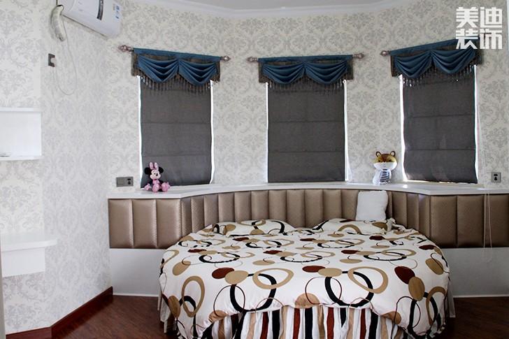 碧桂园现代欧式亚博体育app下载安装风格效果图--卧室
