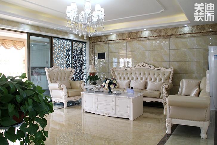 碧桂园现代欧式亚博体育app下载安装风格效果图--客厅