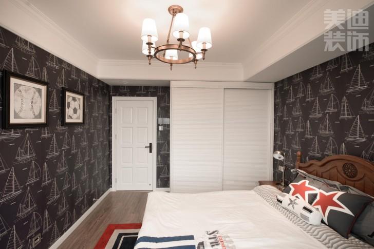 经典小美风格样板房亚博体育app官方下载苹果实景图--卧室