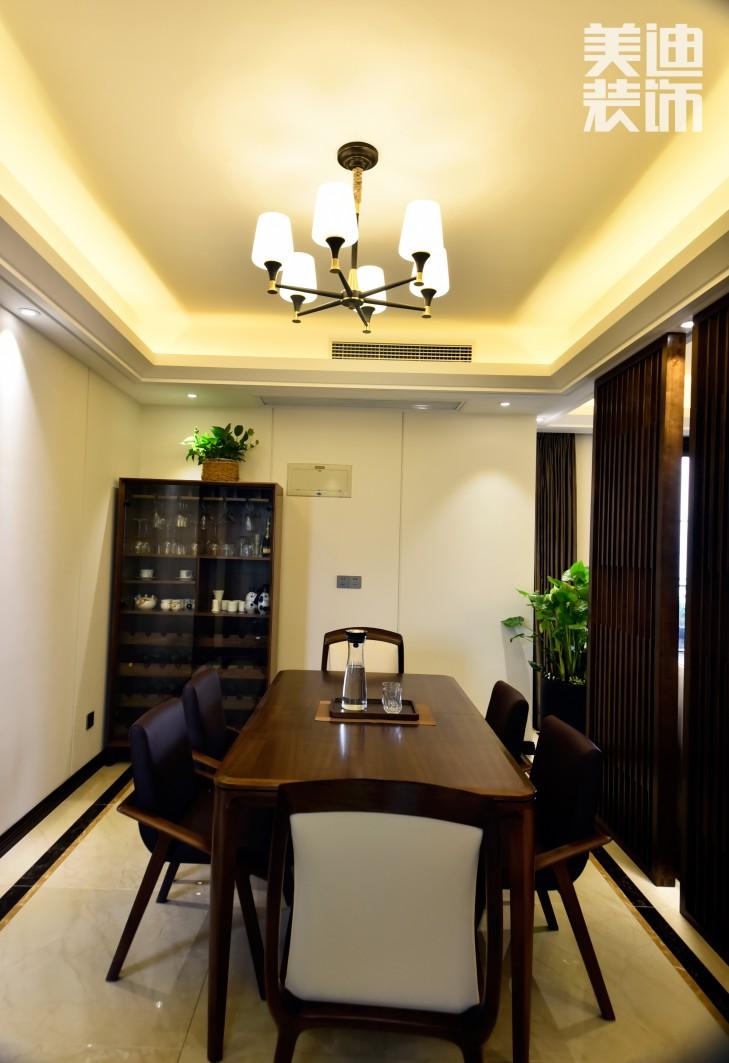 湘江豪庭220㎡现代简约风格亚博体育app下载安装效果图-餐厅