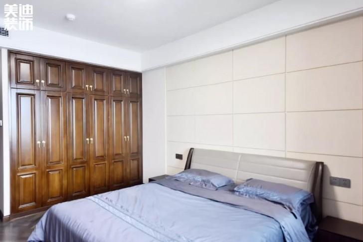 湘江豪庭220㎡现代简约风格亚博体育app下载安装效果图-卧室