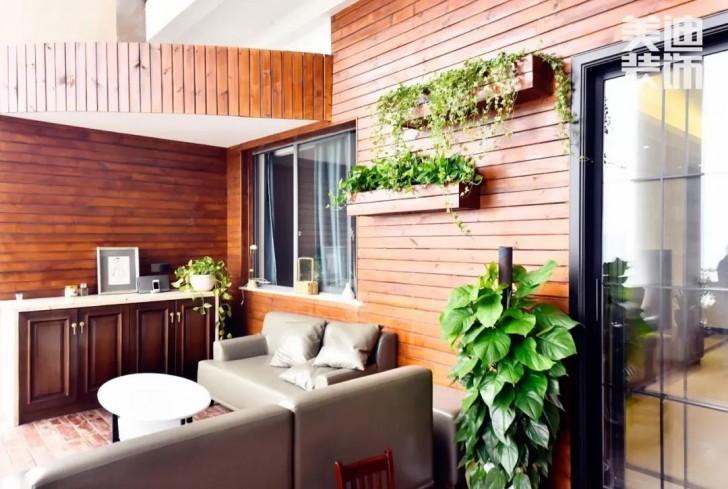 湘江豪庭220㎡现代简约风格亚博体育app下载安装效果图-阳台