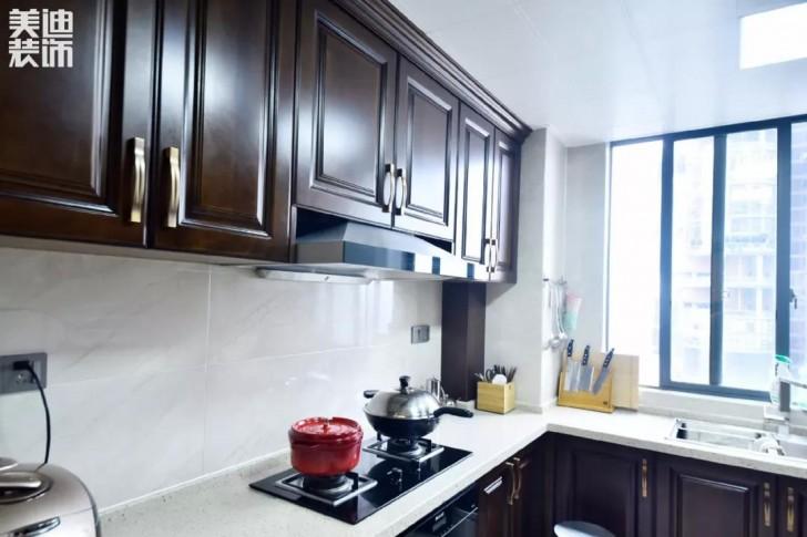 湘江豪庭220㎡现代简约风格亚博体育app下载安装效果图-厨房