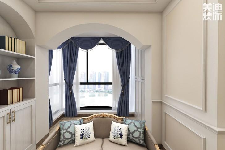 凯通国际80平米欧式风格亚博体育app下载安装效果图--沙发