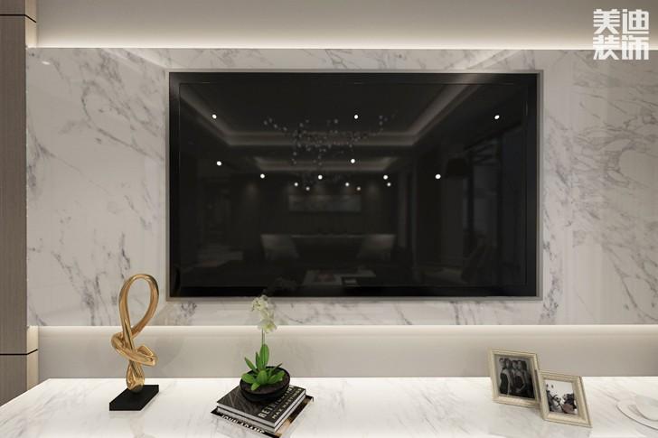 堤亚纳湾190平米现代风格亚博体育app下载安装效果图--客厅