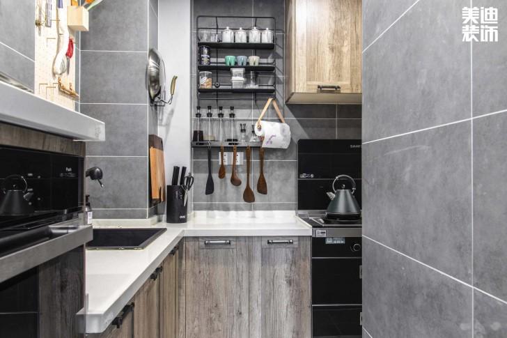 北大资源理想家园88平米北欧风格实拍亚博体育app官方下载苹果--厨房