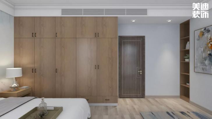 北大资源理想家园116平方米新中式亚博体育app官方下载苹果效果图--卧室