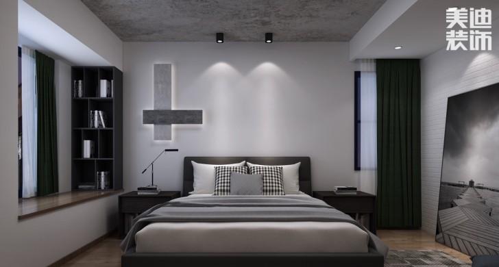 美莱美城市广场140平现代效果图--卧室