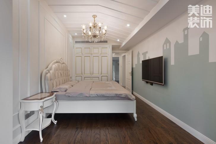 五矿沁园金城300平方米法式风格亚博体育app官方下载苹果效果图--卧室