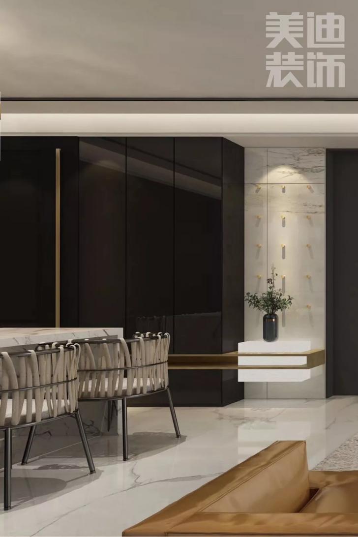 景秀世纪140平方米现代风格亚博体育app官方下载苹果效果图--餐厅