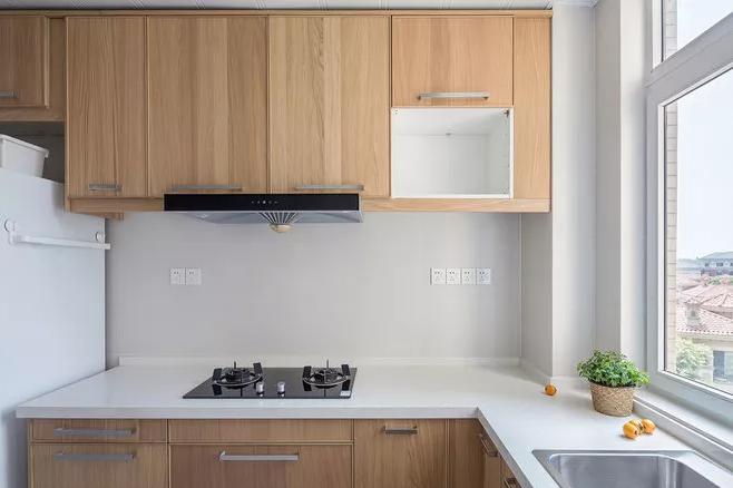 极简风格厨房亚博体育app下载安装效果图