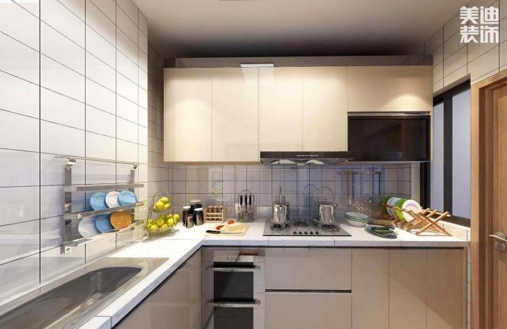 时代倾城87平方米日式风格亚博体育app官方下载苹果效果图--厨房