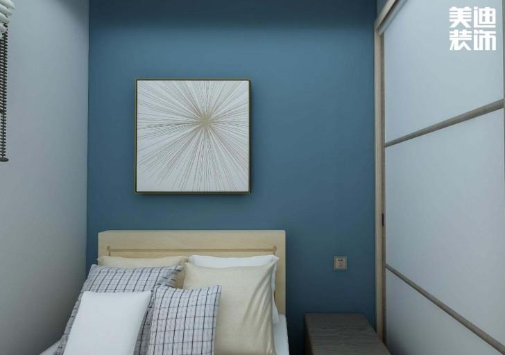 阳光尚东湾90平方米日式风格亚博体育app官方下载苹果效果图--卧室