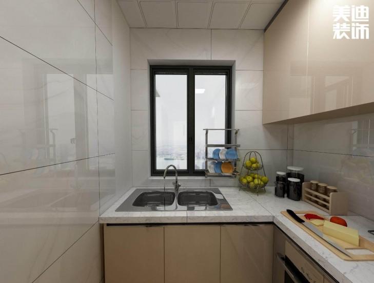 阳光尚东湾90平方米日式风格亚博体育app官方下载苹果效果图--厨房