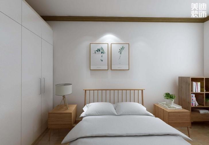 龙湖春江悦茗135平方米日式风格亚博体育app官方下载苹果效果图--卧室