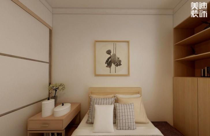 云顶梅溪湖97平方米日式风格亚博体育app官方下载苹果效果图--卧室