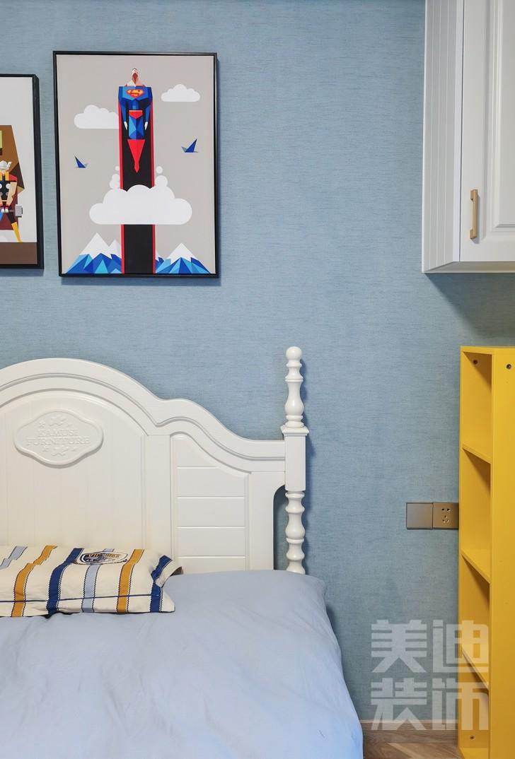 万象府台150㎡美式风格效果图图--卧室