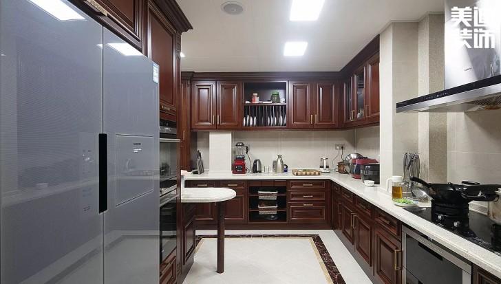 湘江豪庭300平方米新中式风格亚博体育app官方下载苹果实拍图--厨房