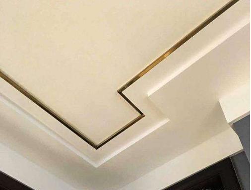 吊顶金属线条的安装方法