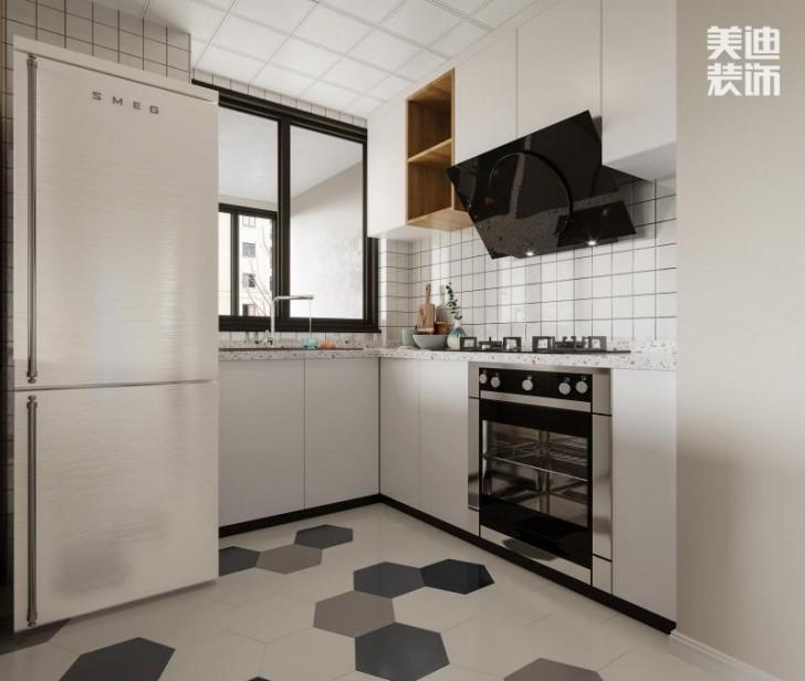梅溪清秀97㎡北欧ins风——厨房