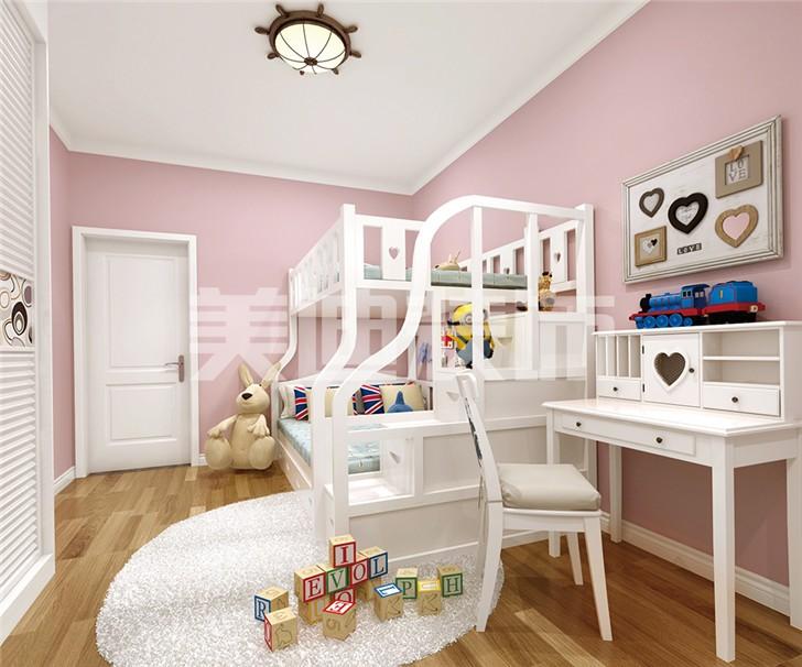 中建信和城115平米装修案例儿童房