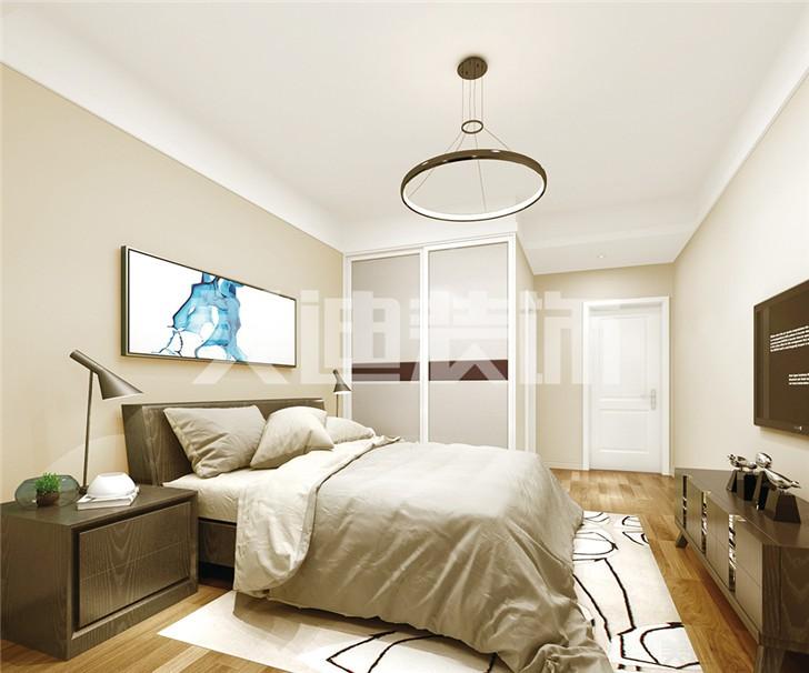 中建信和城115平米装修案例-卧室