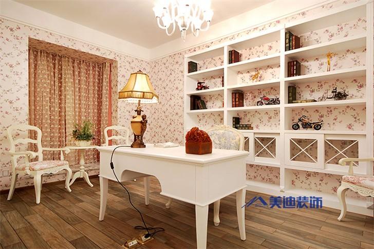 景秀江山四室两厅装修案例-书房
