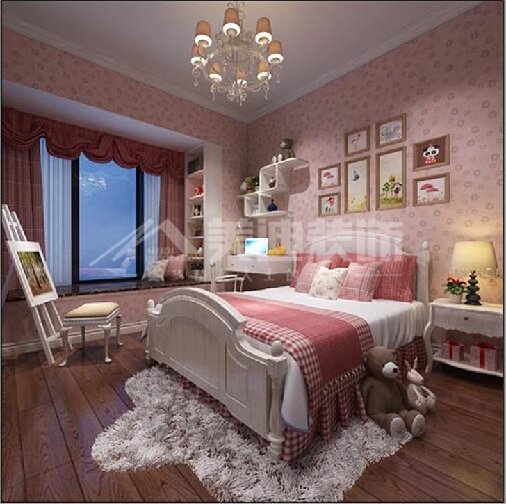 荣悦台新奢古典风装修案例图—卧室