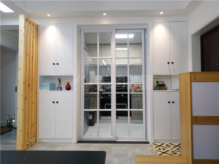 兰亭湾畔114平北欧风装修案例图—厨房