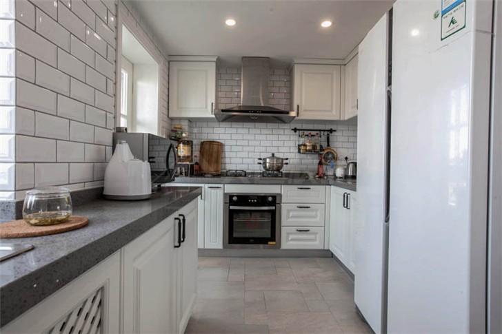 沁园春140平美式风装修案例图—厨房