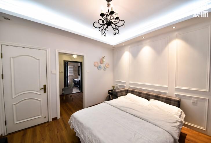 荣悦台140平米简欧风格装修案例实拍图--卧室