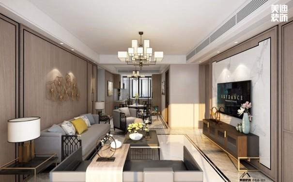 新中式装修效果图大全欣赏,听说客厅这么装修美呆了!