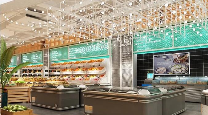 长沙超市装修设计如何调动顾客购买兴趣